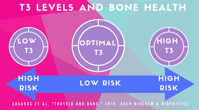 T3 levels and bone