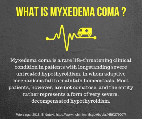 Myxedema Coma