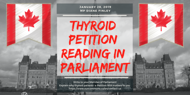 Thyroid petition reading in parliament-TW