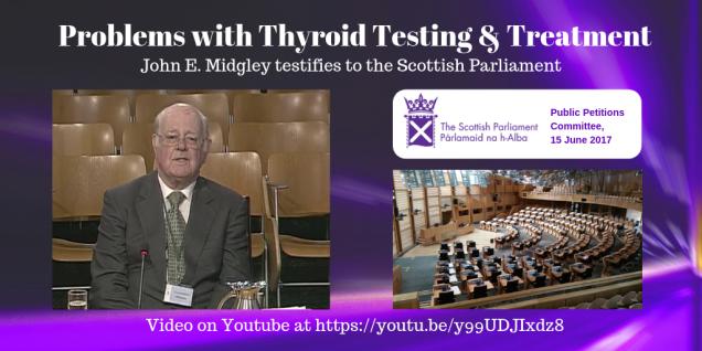 Problems with thyroid testing & treatment_ John E. Midgley