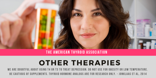 American Thyroid Association-OtherTherapies