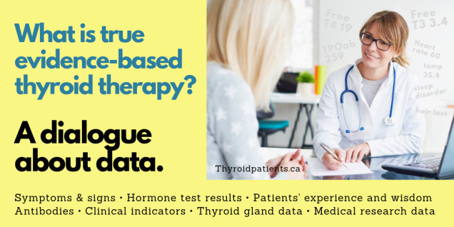 What is evidence-based thyroid therapy_ A dialogue