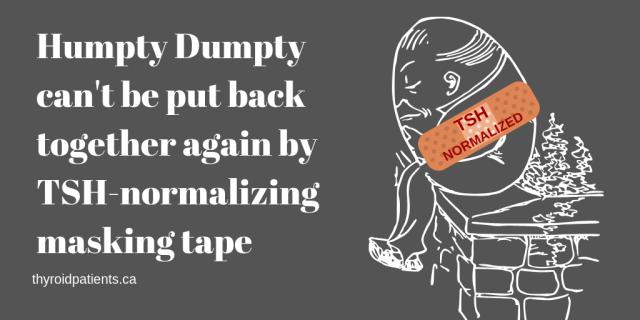 Humpty Dumpty can't be